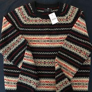 J.Crew Fair Isle Lambs Wool Sweater